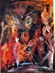 PeopleAround-acrilicoCartoncino50x70sm