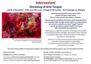 Intersezioni - Workshop di Arte Terapia